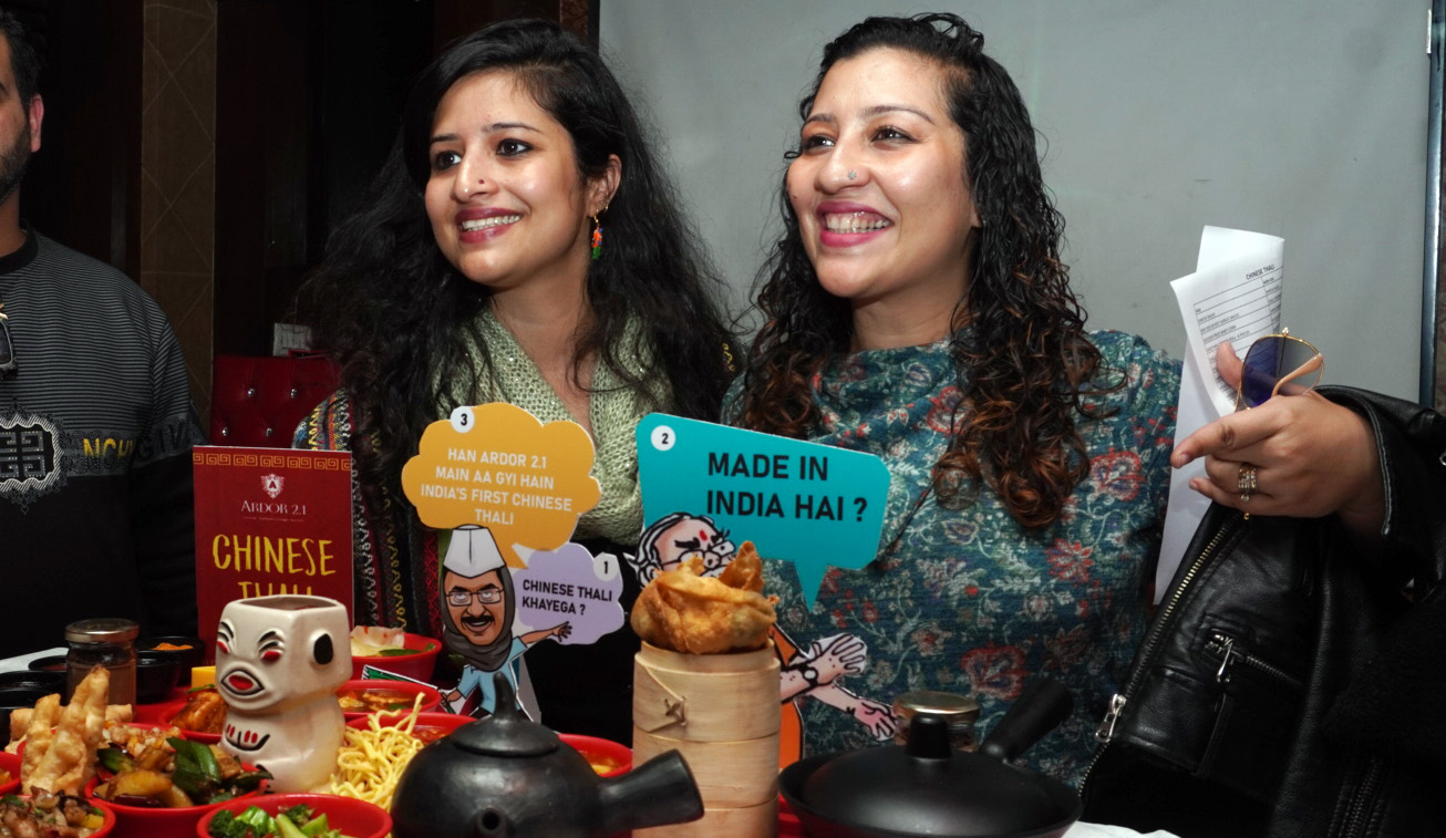 Launch of Kejriwal's Chinese Thali by Ardor 2.1