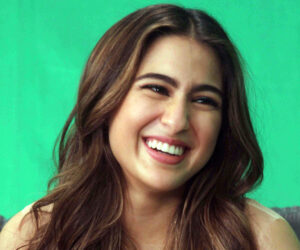 Who was Sara Ali Khan's first crush?