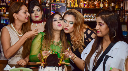 Birthday bash of Gulafsha Qureshi